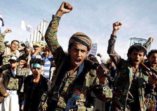 جماعة أنصار الله في صنعاء، اليمن 26 مارس/ آذار 2019