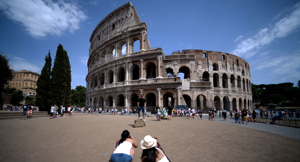 كولوسيوم في روما، إيطاليا