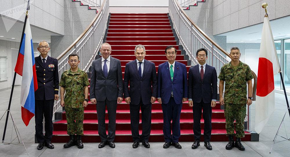 وزير الدفاع الروسي في اليابان في 30 مايو / أيار 2019