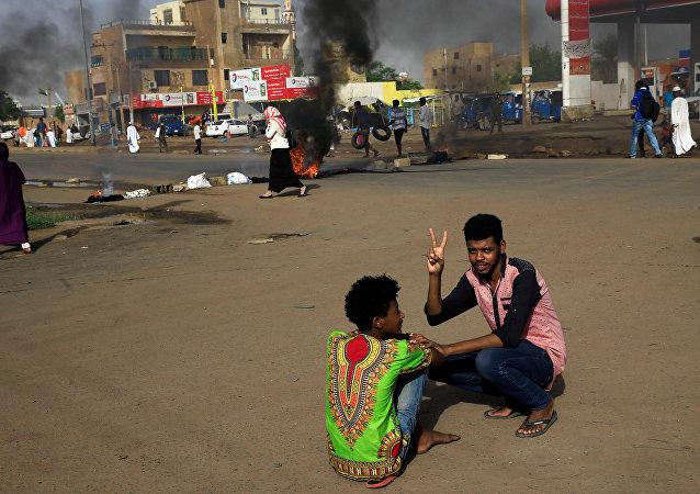 فض اعتصام القيادة العامة في الخرطوم