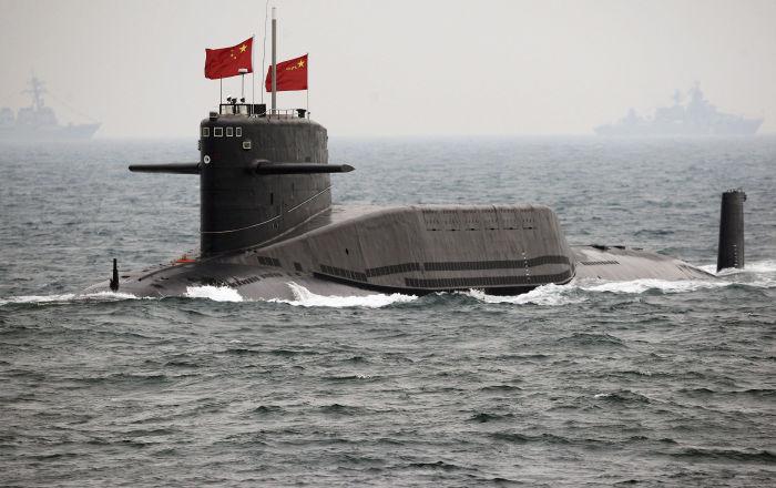 غواصة نووية صينية تصنع نهاية الأسطول الأمريكي