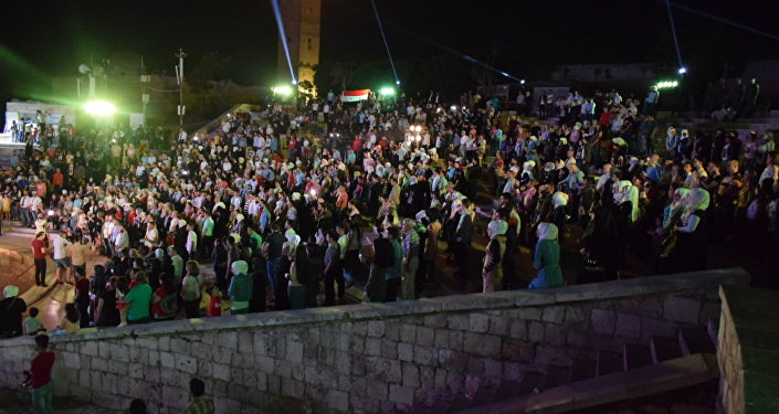 حضور جماهيري في مهرجان الأصالة الحلبي