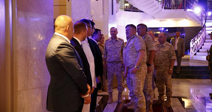 احتفالات يوم روسيا في دمشق