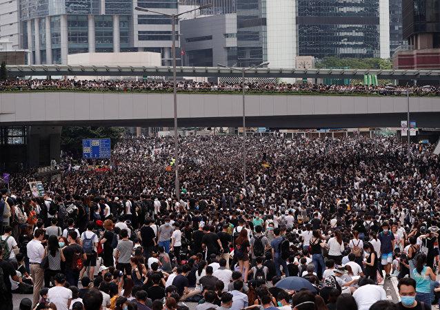 احتجاجات في هونج كونج ضد قانون تسليم المطلوبين إلى الصين