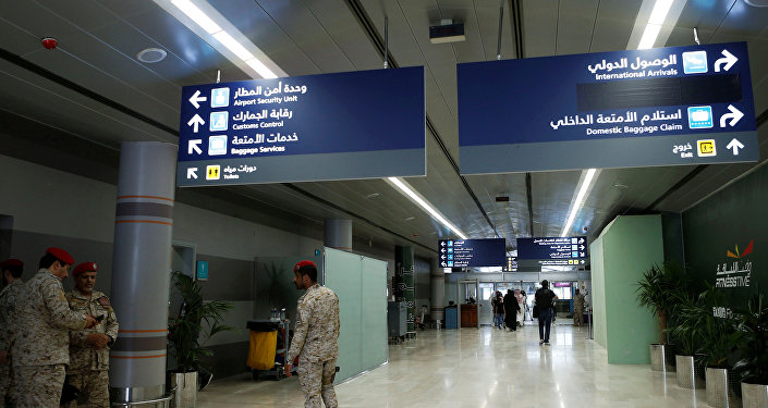 مطار أبها في جنوب السعودية