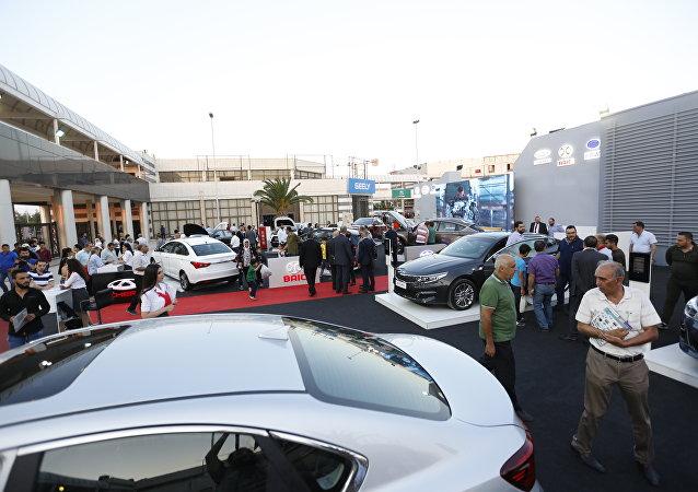 السيارات السورية في موتور شو في دمشق
