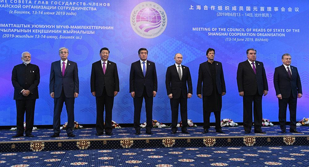 اجتماع منظمة شنغهاي في بشكيك