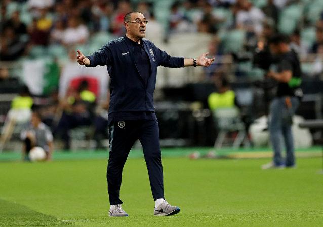 المدرب الإيطالي ماوريسيو ساري