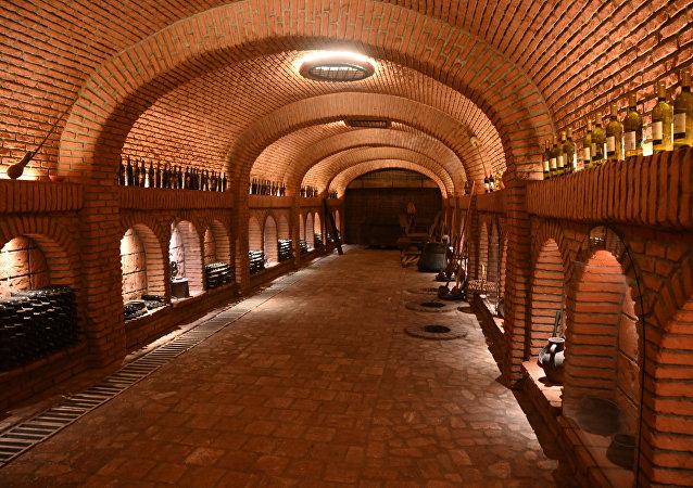 مصنع الخمور في جورجيا