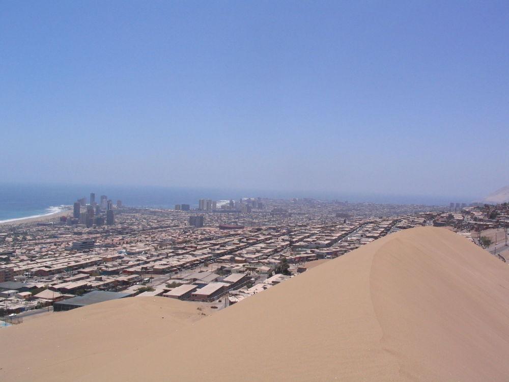 مدينة إكيكي الساحلية في تشيلي