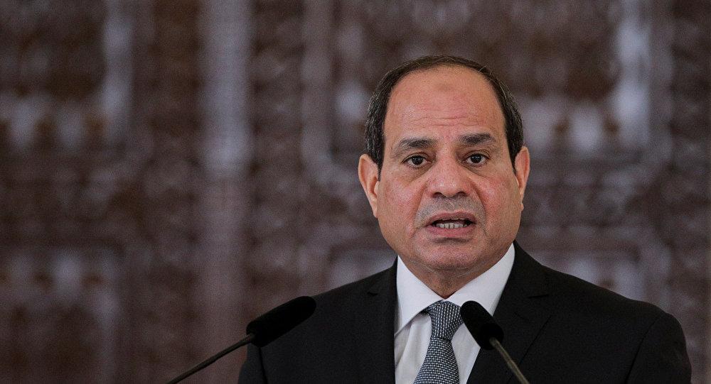 الرئيس المصري عبد الفتاح السيسي في رومانيا