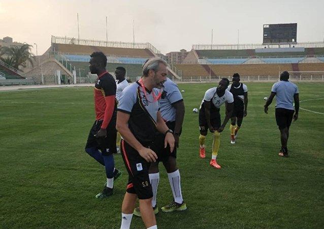 منتخب أوغندا في مصر قبل انطلاق أمم أفريقيا 2019