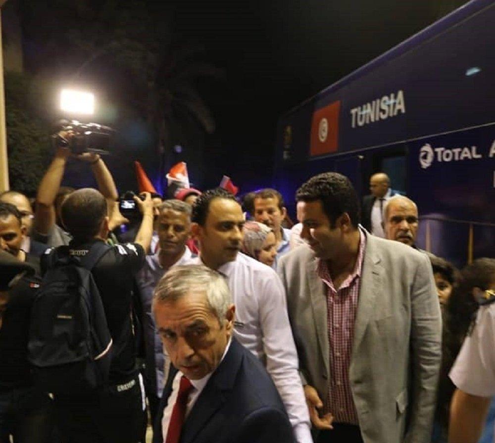 وصول منتخب تونس إلى مصر للمشاركة في أمم أفريقيا 2019