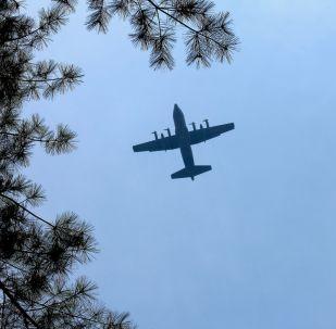 طائرة تابعة للقوات الجوية الأمريكية من طراز سي-130