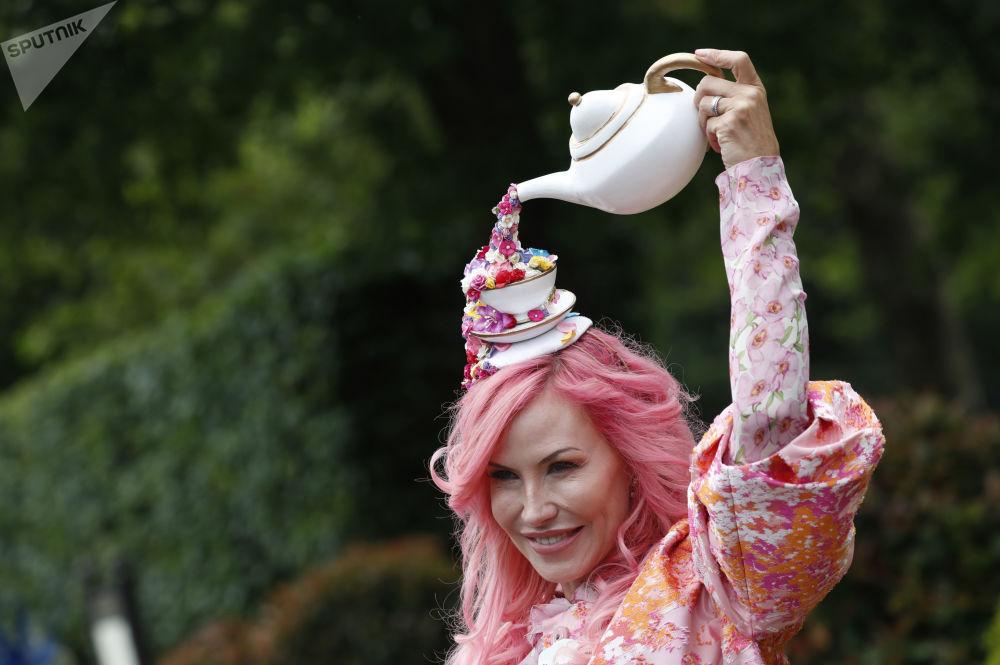 سباق الخيل الملكي أسكوت السنوي، والمعروف تقليديًا باسم يوم السيدات، في أسكوت، إنجلترا 20 يونيو/ حزيران 2019