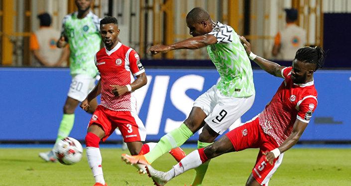 نيجيريا وبوروندي في أمم أفريقيا
