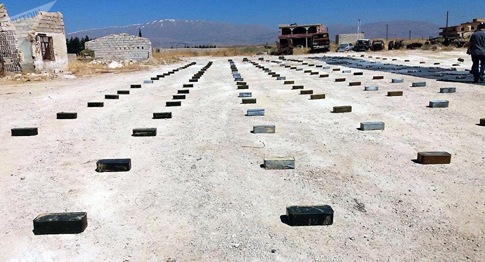 الأمن السوري يضبط أسلحة وذخائر في الجولان