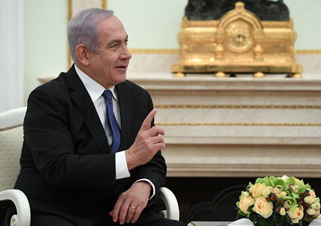 رئيس الوزراء الإسرائيلي بنيامين نتنياهو