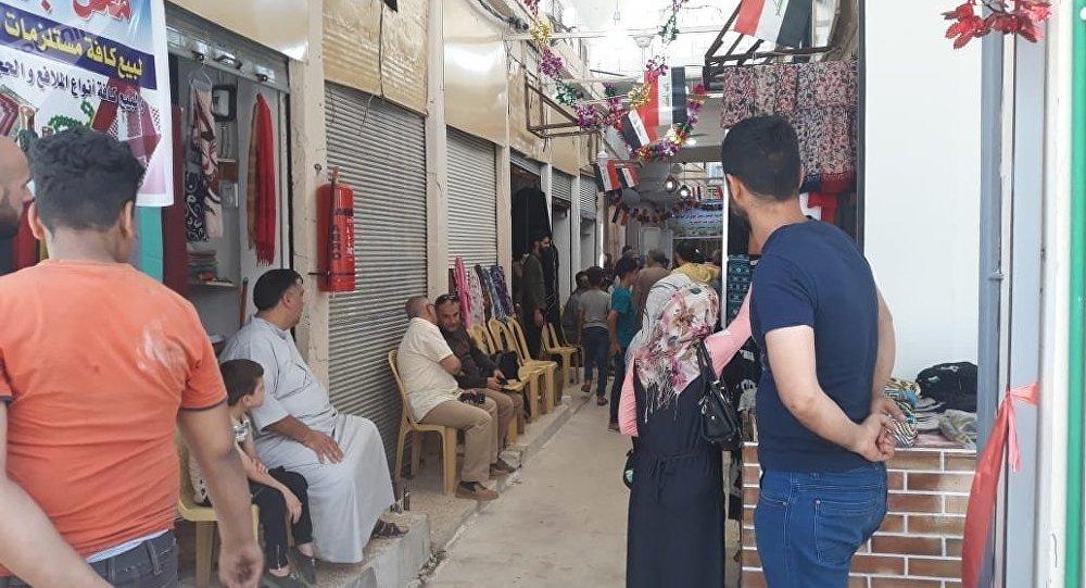 الحياة تعود لأكبر أسواق الشرق وأقدمها في الموصل المحررة