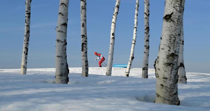 الصورة بعنوان الأولمبي الوحيد، فئة الرياضة، للمصور  أليكسي فيليبوف من روسيا