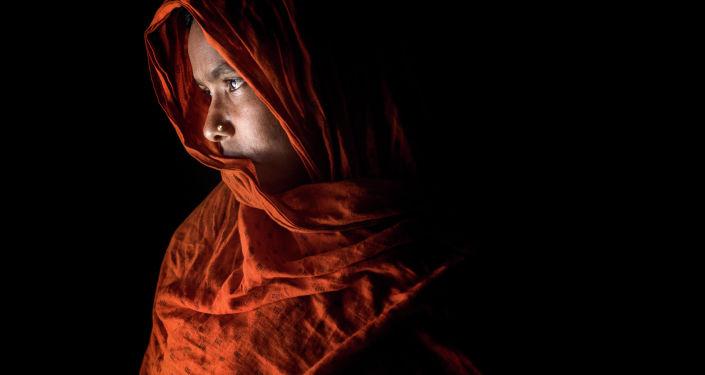 الصورة بعنوانقصة عذاب، فئة لوحة شخصية. بطل من هذا الزمان، للمصور مشفيكول ألام من بنغلادش