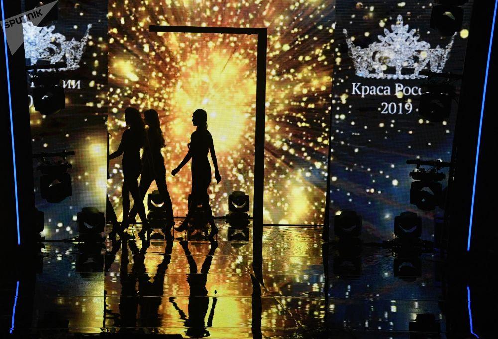 مهرجان الجمال والمواهب الـ25 كراسا روسيي-2019 (حسناء روسيا 2019) في قاعة فيغاس سيتي هول