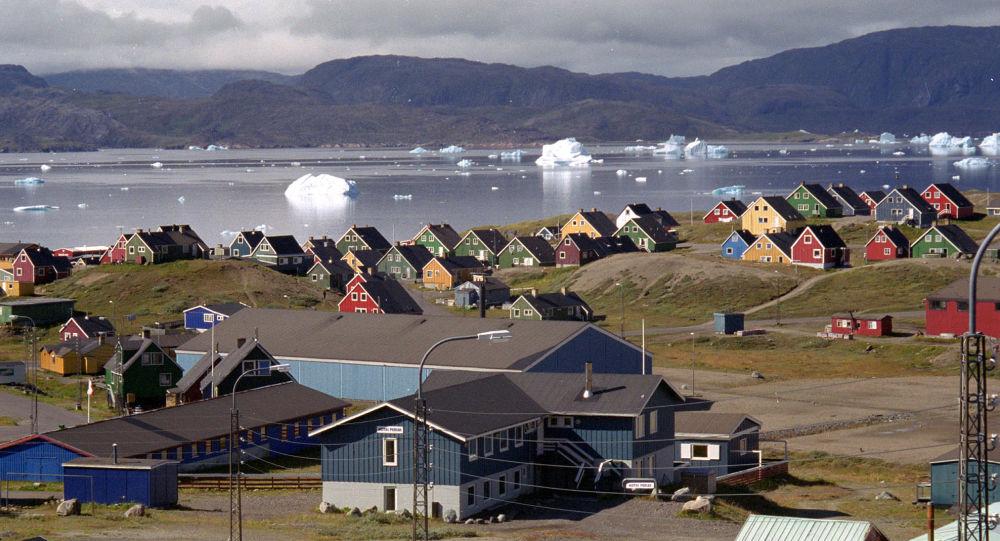 ذوبان الجليد في غرينلاند