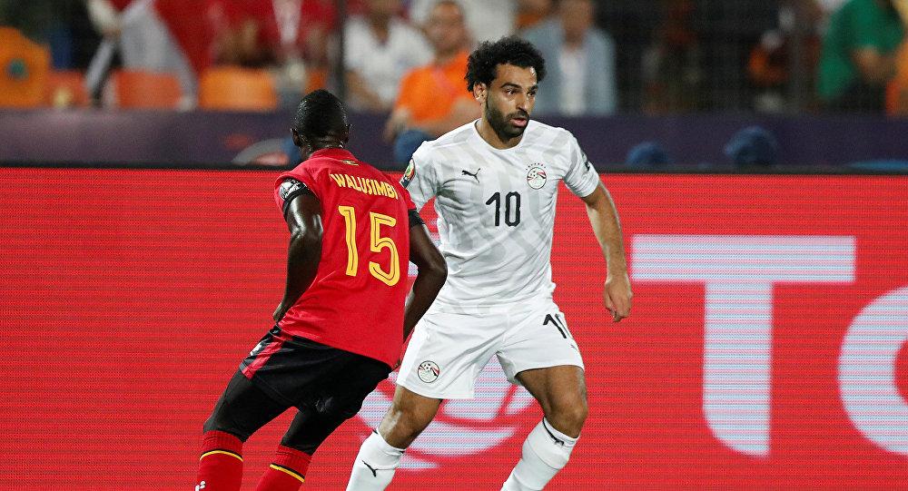 مباراة مصر وأوغندا