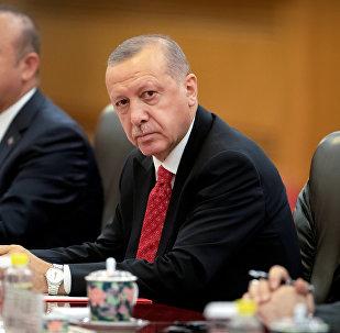 الرئيس الصيني شي جين بينغ يلتقي بالرئيس التركي رجب طيب أردوغان في بكين