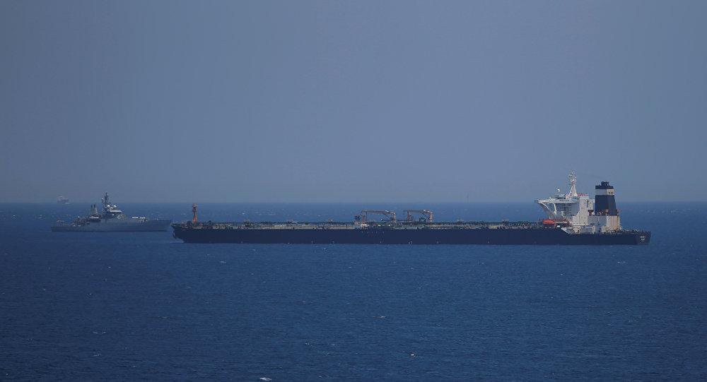 ناقلة النفط الإيرانية المحتجزة لدى بريطانيا