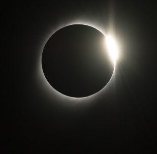 كسوف الشمس في 2 يوليو/ تموز 2019، مأخوذ من المرصد في تشيلي