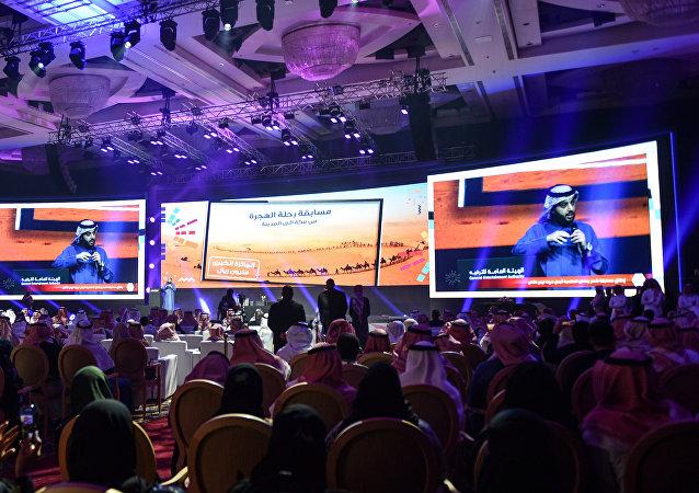 رئيس الهيئة العامة للترفيه السعودية تركي آل الشيخ يشرح خطط الهيئة لعام 2019، 22 يناير/كانون الثاني 2019