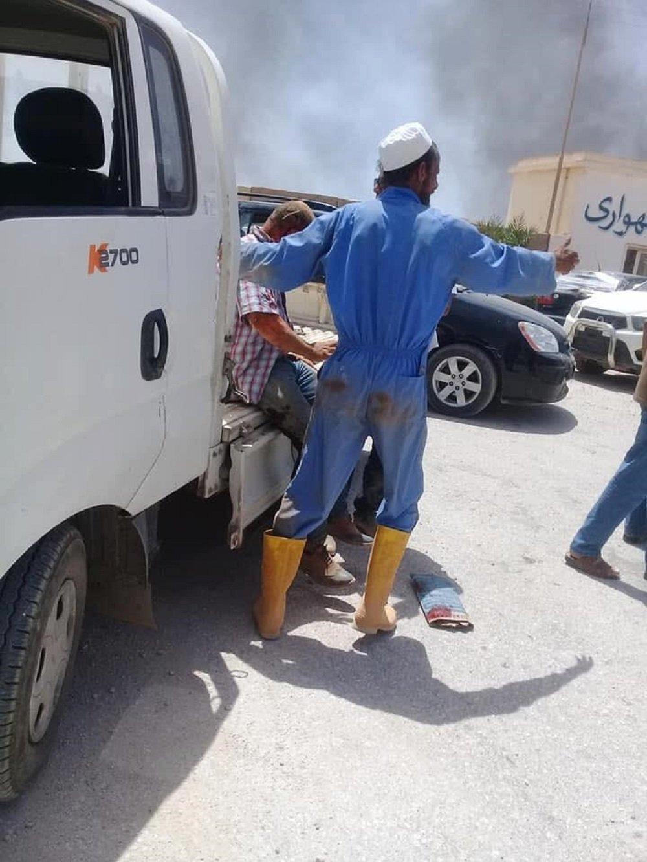 تفجير إرهابي استهدف جنازة اللواء خليفة المسماري في ليبيا