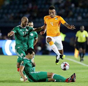 مباراة كوت ديفوار مع منتخب الجزائر