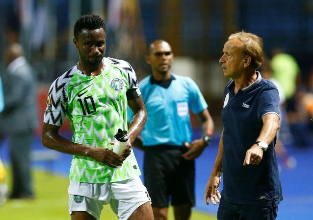 لاعب منتخب نيجيريا جون أوبي ميكيل