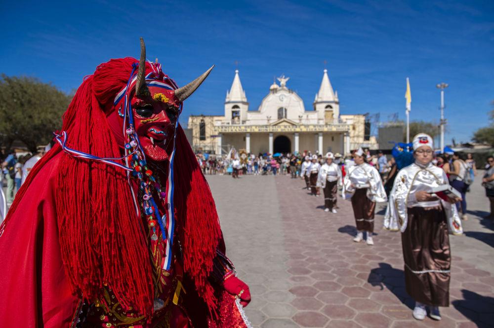 مشاركو مهرجان لا تيرانا في شمال تشيلي، 15 يوليو/ تموز 2019