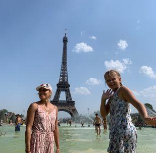 موجة الحر في باريس