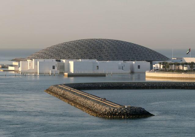 متحف اللوفر أبو ظبي، الإمارات 30 يوليو/ تموز 2019