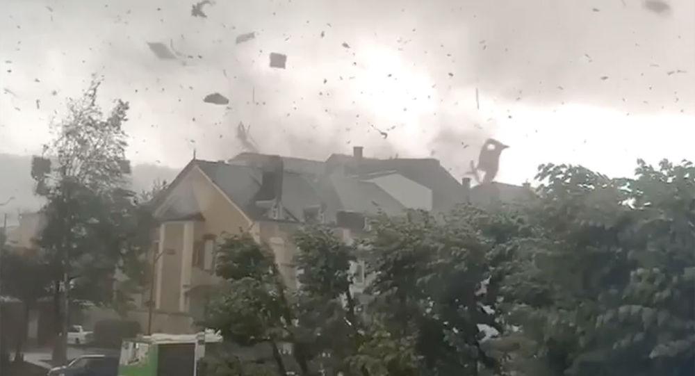 إعصار في لوكسمبورغ