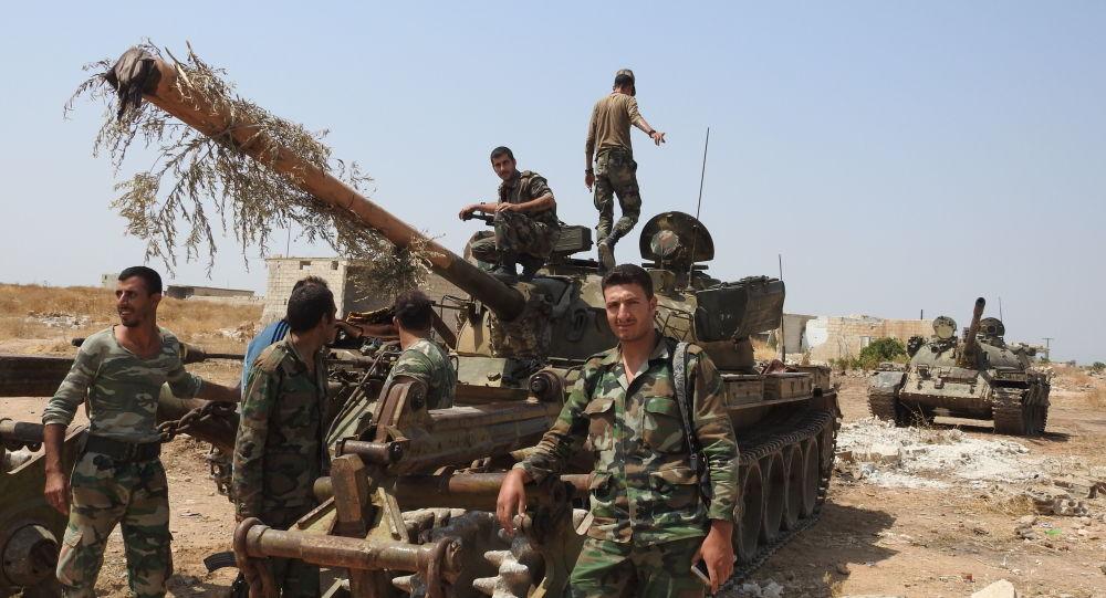 الجيش السوري على مشارف خان شيخون