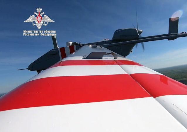 الطائرة المسيرة الجديدة من طراز فوربوست-أر