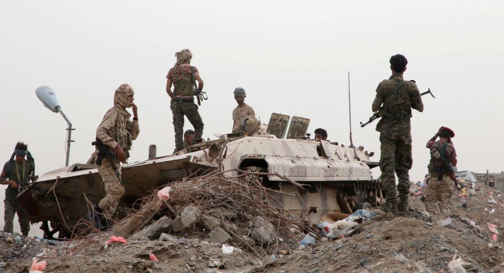 اشتباكات في عدن في جنوب اليمن