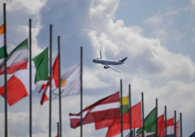 معرض ماكس 2019 للطيران الجوي في مطار جوكوفسكي في ضواحي موسكو، 27 أغسطس/ آب 2019