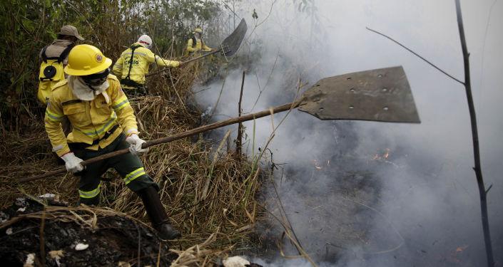 حرائق غابات الأمازون، البرازيل أغسطس/ آب 2019