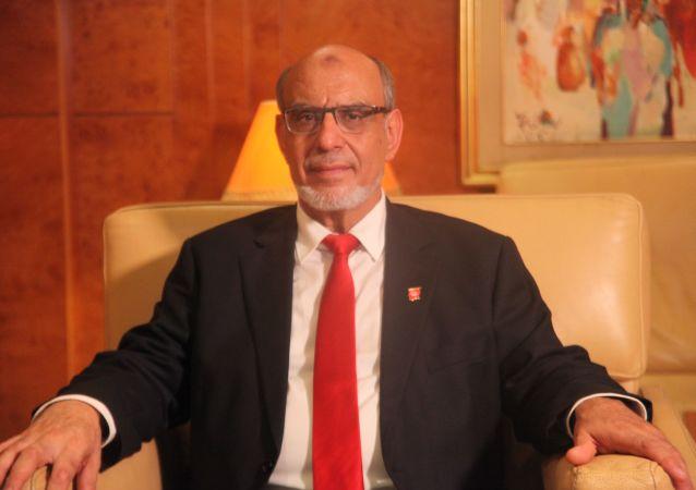 رئيس وزراء تونس الأسبق والمرشح الرئاسي التونسي حمادي الجبالي