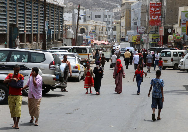 منظر يطل على مدينة عدن، اليمن 12 أغسطس 2019