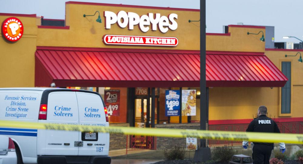 مطعم بوبايز الذي حدث عليه السطو المسلح بمدينة هيوستن الأمريكية