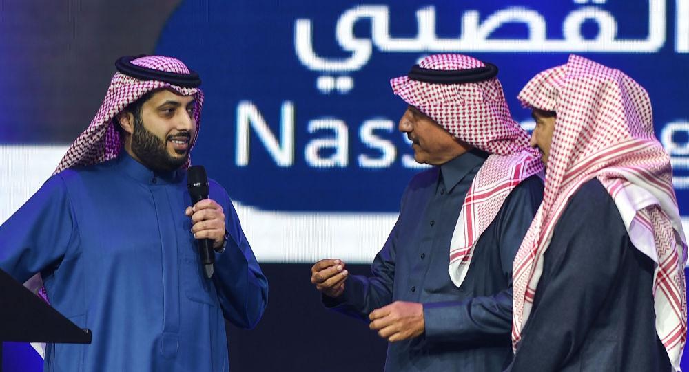 تركي آل الشيخ قبل سفره للعلاج سامحوني Sputnik Arabic