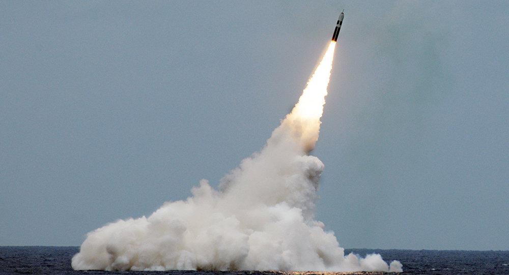 صاروخ نووي من طراز ترايدنت
