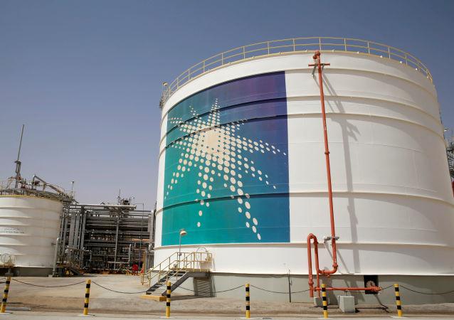 منشأة نفط في أرامكو السعودية